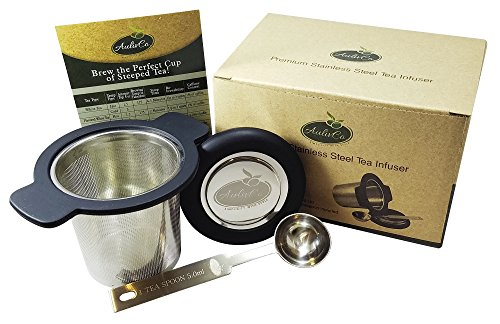AulivCo Tea Infuser Set Bundle with Mesh Stainless Steel