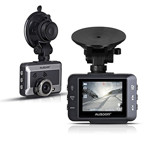 AUSDOM Car Camera AD250 2.0 Inches DVR Dash Cam