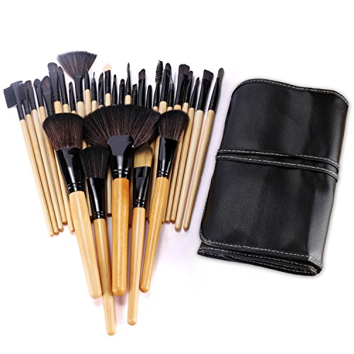 BESTOPE 32PCs Professional Makeup Brushes Set Synthetic Kakubi Cosmetic