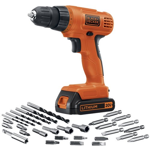 Black  Decker LD120VA 20-Volt MAX Lithium-Ion Drill/Driver with