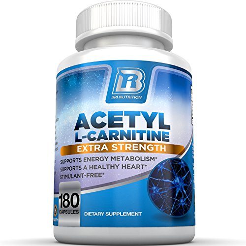 BRI Nutrition Acetyl l-Carnitine - 180 Count 500mg L