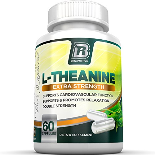 BRI Nutrition 200mg L-Theanine Enhanced with 100 mg of
