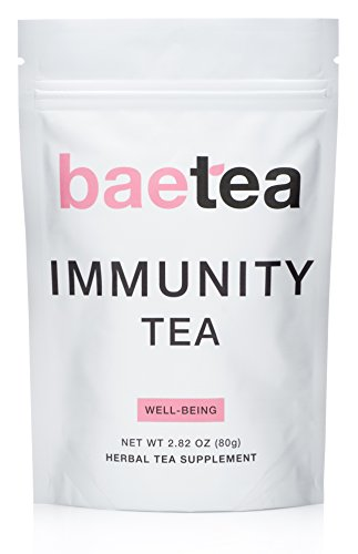 Baetea Immunity Tea: Natural Immune Support, 26 Servings, with
