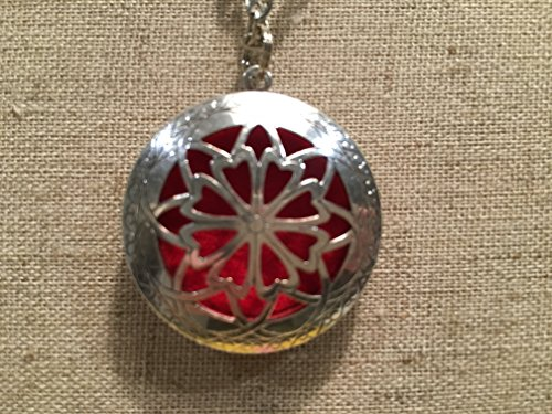 Essential Oils Diffuser Necklace pendant with 24