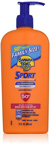 Banana Boat Sunscreen Sport Family Size Broad Spectrum Sun