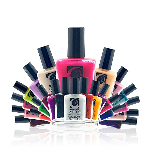 Cosmetic Art 30-Piece Nail Polish Color Lacquer Set