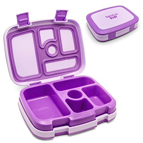 Bentgo Kids - Leakproof Children\'s Lunch Box (Purple)