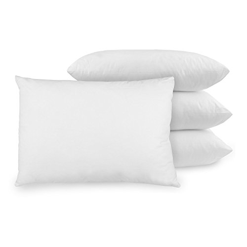 BioPEDIC 4-Pack Bed Pillows with Built-In Ultra-Fresh Anti-Odor Technology