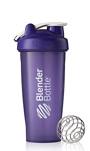 BlenderBottle Classic Loop Top Shaker Bottle, Purple/Purple, 28-Ounce Loop