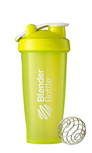 BlenderBottle Classic Loop Top Shaker Bottle, Green/Green, 28-Ounce Loop