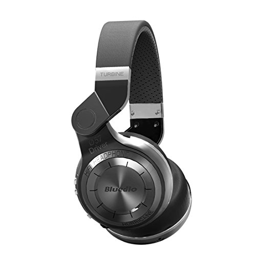 Bluedio T2 Bluetooth Wireless Stereo Headphones with Microphone, 57mm