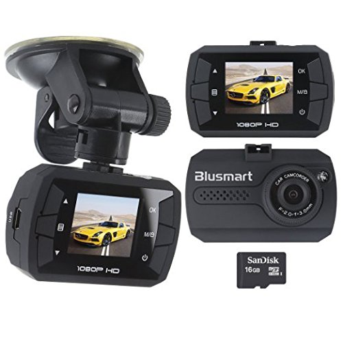 Dash Cam Full HD Car Vehicle Dashboard Camera DVR