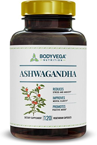 Ashwagandha, 120 Vegetarian Capsules, 800 Milligrams per Serving, by