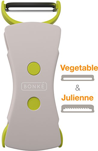 2 In 1 Bonke Vegetable Peeler and Julienne Peeler
