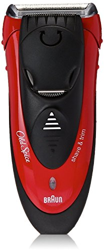 Old Spice Wet  Dry Shave  Trim, powered