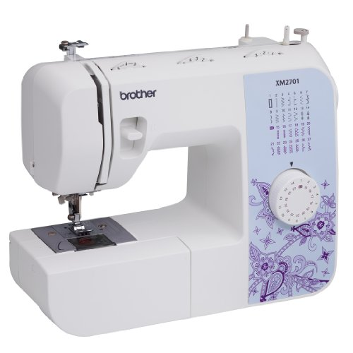 $74.99 Brother XM2701 Lightweight, Full-Featured Sewing Machine with 27 Stitches,