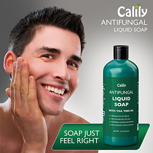 Calily Premium Natural Antifungal Soap with Tea Tree Oil