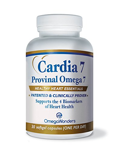 Cardia 7 - Provinal Omega 7 Patented and Clinically