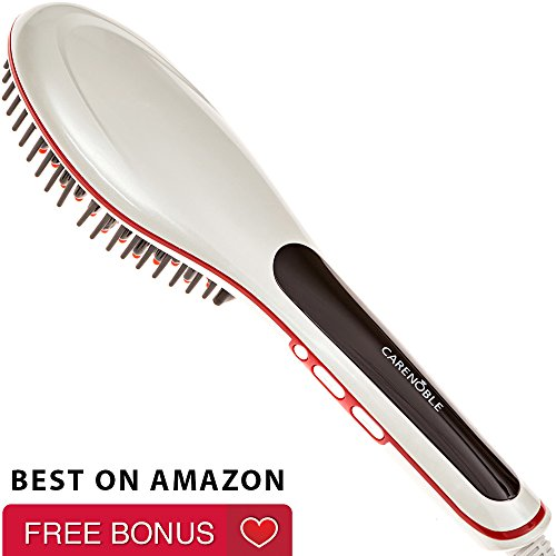 Professional Hair Straightening Brush - Electric Iron Comb Simply