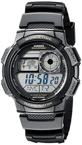 $18.19 Casio Men's AE-1000W-1AVDF Resin Sport Watch with Black Band