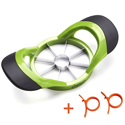 Chefaith 8-Blade Apple Slicer, Corer, Cutter, Wedger, Divider for