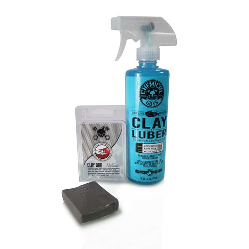 Chemical Guys CLY_KIT_2 Medium Duty Clay Bar and Luber