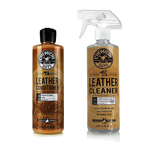 Chemical Guys SPI_109_16 Leather Cleaner and Conditioner Complete Leather