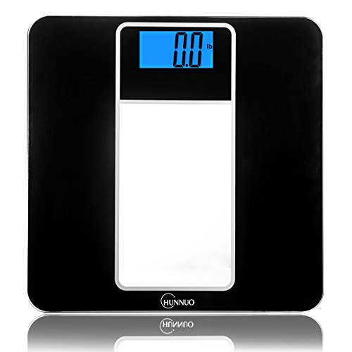Digital Bathroom Scale, Chunnuo 396lb/180kg Precision Body Weight Scale