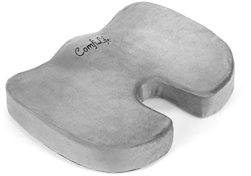 ComfiLife Coccyx Orthopedic Memory Foam Office Chair and Car