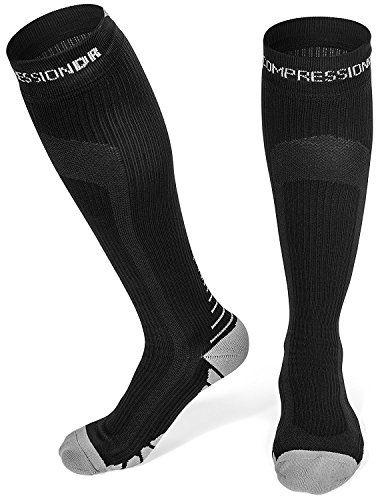 CompressionDR Compression Socks - Firm Knee High Graduated 20-30