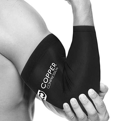 Copper Compression Recovery Elbow Sleeve - Highest Copper Content