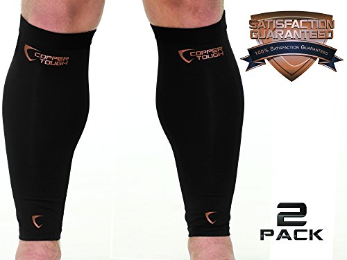 Copper Tough Calf Compression Sleeves – High Performance Copper