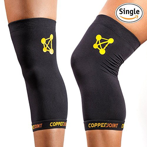 CopperJoint Copper Knee Brace, 1 Compression Fit Support –