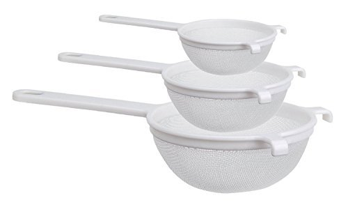 Culina Nylon Mesh Strainer Set of 3 - 4