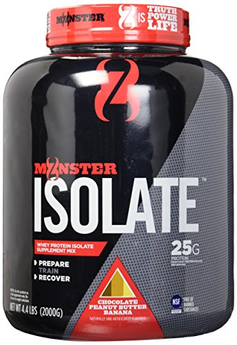 Cytosport Monster Whey Protein Shakes, Isolate Supplement Mix, Peanut