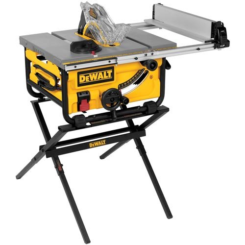 DEWALT DWE7480XA 10-Inch Compact Job Site Table Saw with
