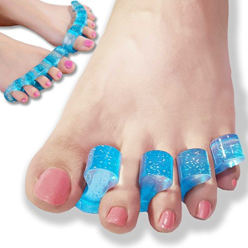 DR JK- Gel Toe Stretchers for Yoga, Toe Separators