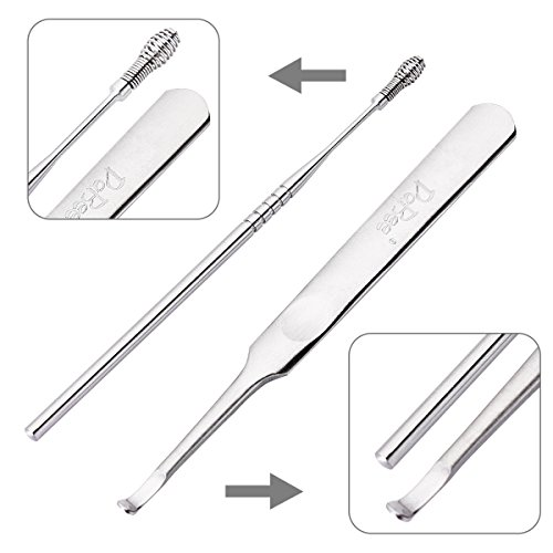 Ear Wax Pick Remover Curette for Build Up Impacted