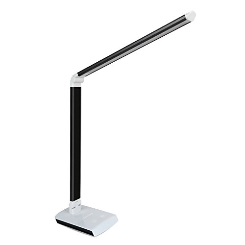 Deckey Dimmable 10W Rotatable LED Desk Lamp,Touch-sensitive Control Panel,Eye-caring
