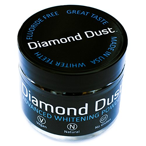 Activated Charcoal Teeth Whitening Powder by Diamond Dust -