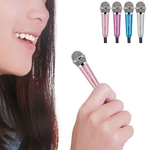 Mini Microphone,Dizaul Omnidirectional Stereo Mic for Voice Recording,Chatting on