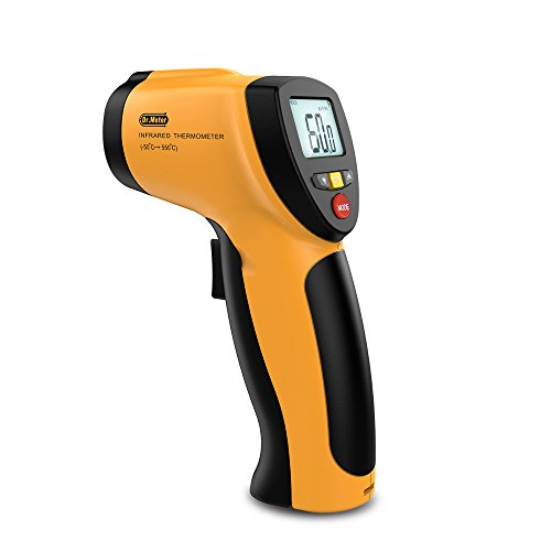 Dr.Meter IR-20 Non-contact Digital Laser Infrared Thermometer, -50°C to