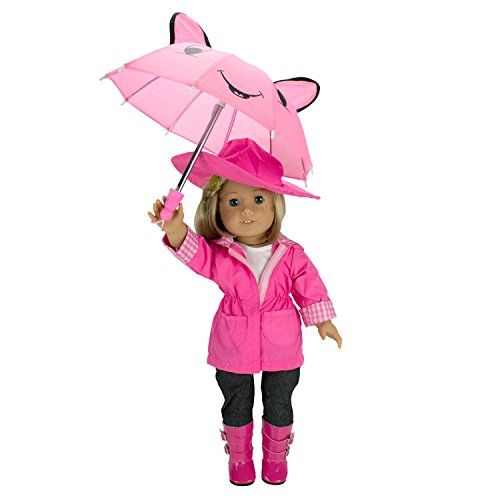Doll Clothes for American Girl Dolls: 6 Piece Rain