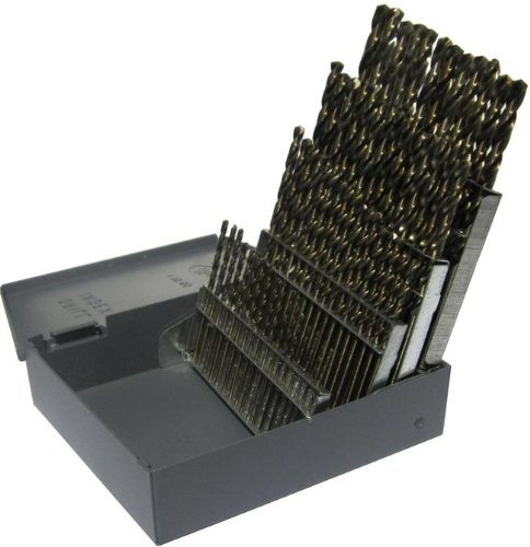 $23.99 Drill America DWD60J-SET Drill Set Qualtech HSS Surface treated