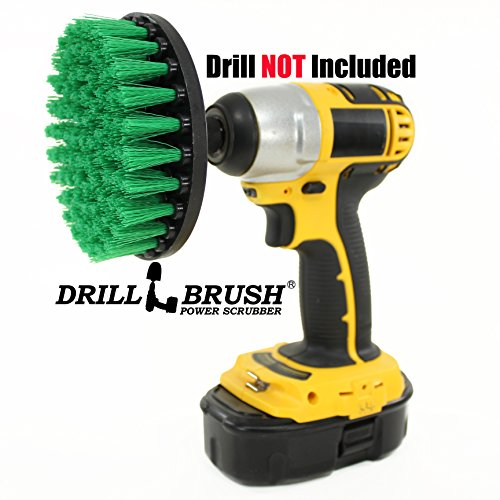 Carpet Brush Drill Attachment Medium Duty Scrubbing Drill Brush