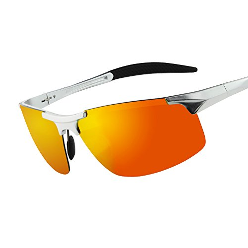 Duco Men's Sports Style Polarized Sunglasses Driver Glasses 8177S
