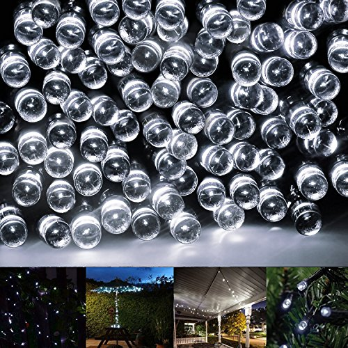 Solar String Lights,Eonfine 72ft 22m 200 LED Solar Powered
