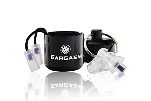 Eargasm Activewear Series Earplugs for Concerts Musicians Motorcycles and