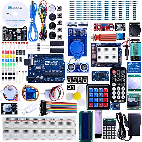 Elegoo UNO R3 Project Complete Starter Kit with Tutorial