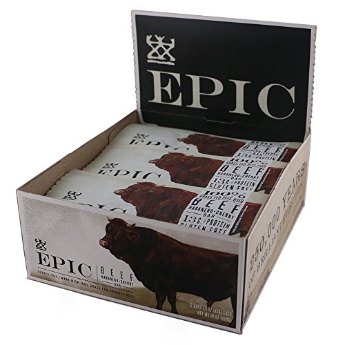 $26.73 Epic All Natural Meat Bar, 100% Grass Fed, Beef,